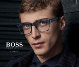 8e5abbc4488c Hugo Boss eyewear presents refined elegance